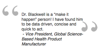 Vice President, Global Science-Based Health Product Manufacturer