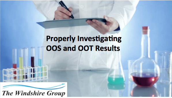 Properly Investigating Out Of Specification (OOS) And Out Of Trend (OOT) Results – Webcast On-Demand