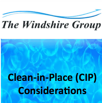 Clean In Place Considerations
