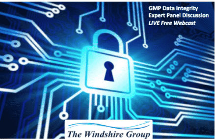 Transcription: GMP Data Integrity Expert Panel Discussion - Live Free Webcast